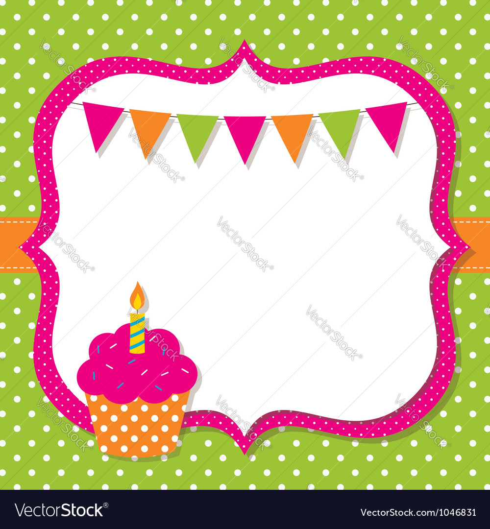 Birthday Vector Images over 190000 – Vector Birthday Card