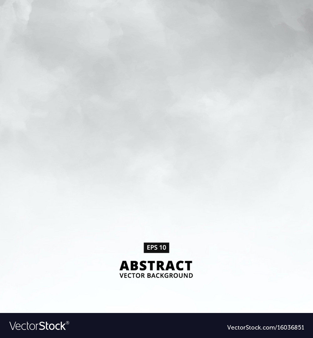 Abstract white cloud detail in blue sky vector image