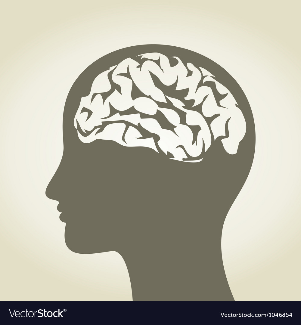Brain5 vector image
