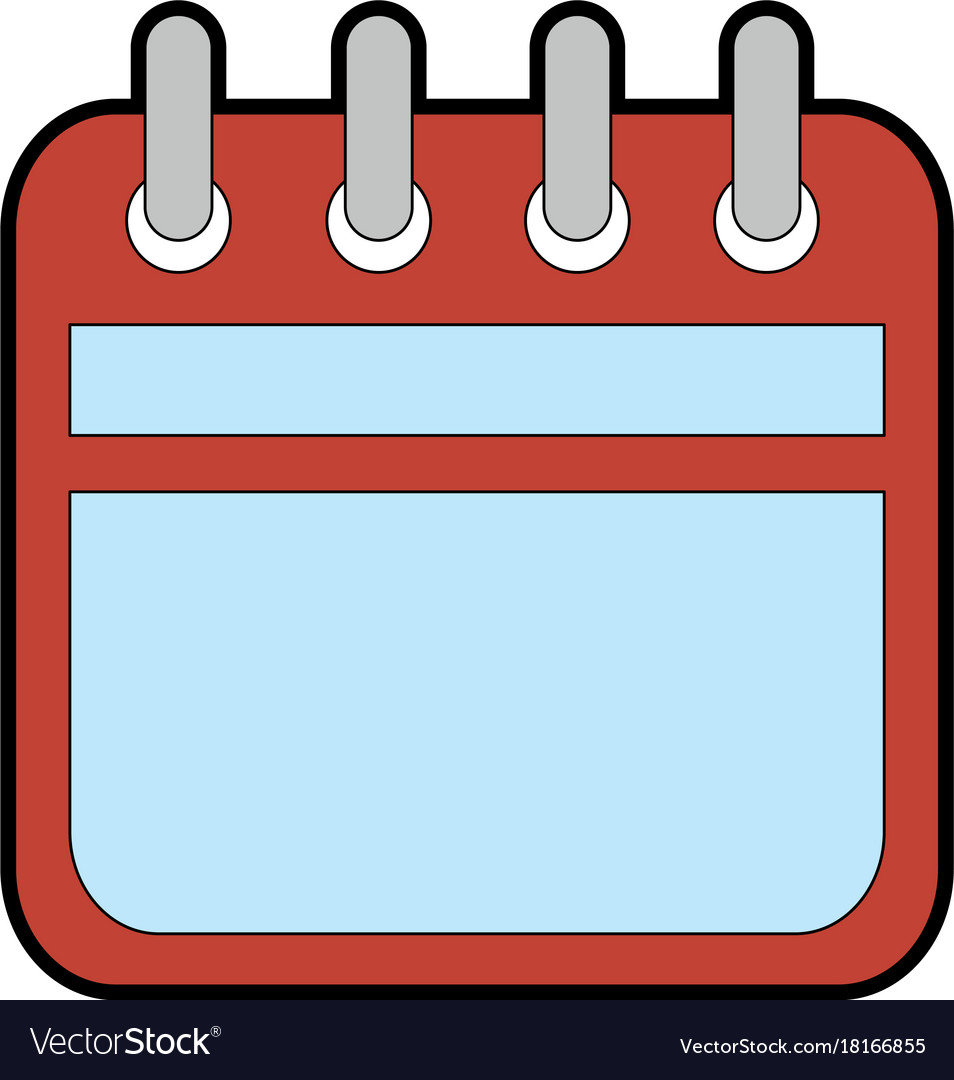 Calendar Reminder Design : Calendar reminder isolated icon royalty free vector image