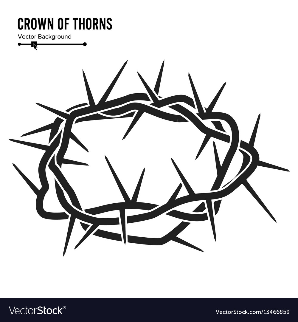Crown Thorns Illustrations & Vectors