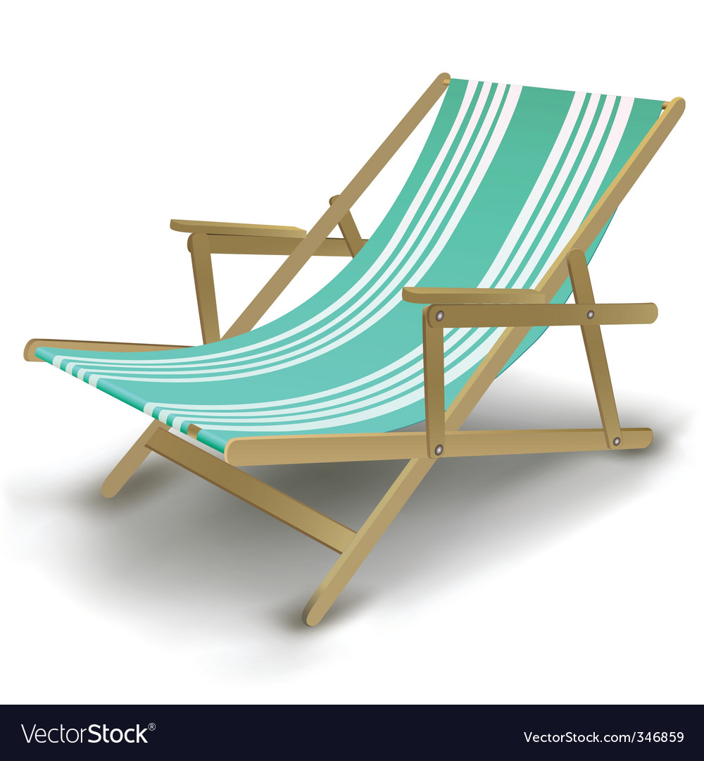 Relaxing Chair Vector Image
