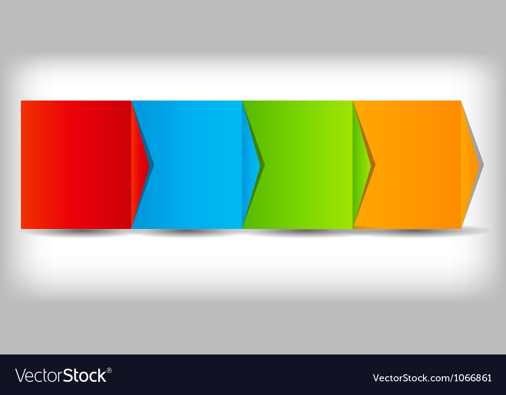 Business process chart vector image