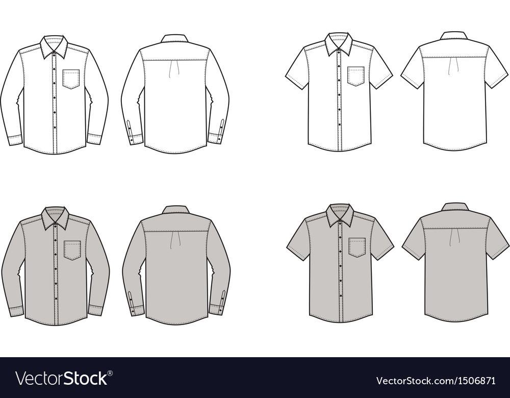 Shirts vector image