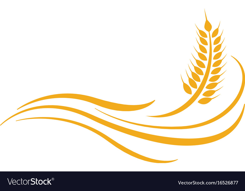agriculture wheat logo template icon design vector image what clipart wheat clip art free