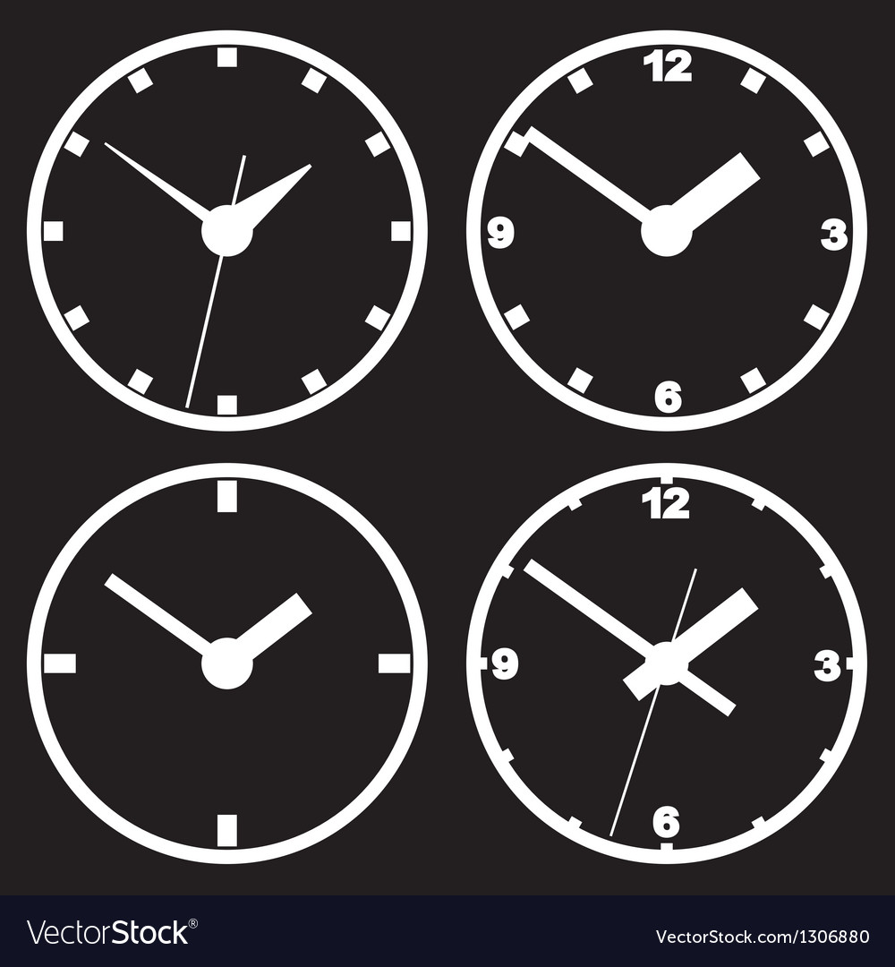 Digital clock wall mount images home wall decoration ideas wall mounted digital clocks image collections home wall wall mounted digital clock royalty free vector image amipublicfo Image collections