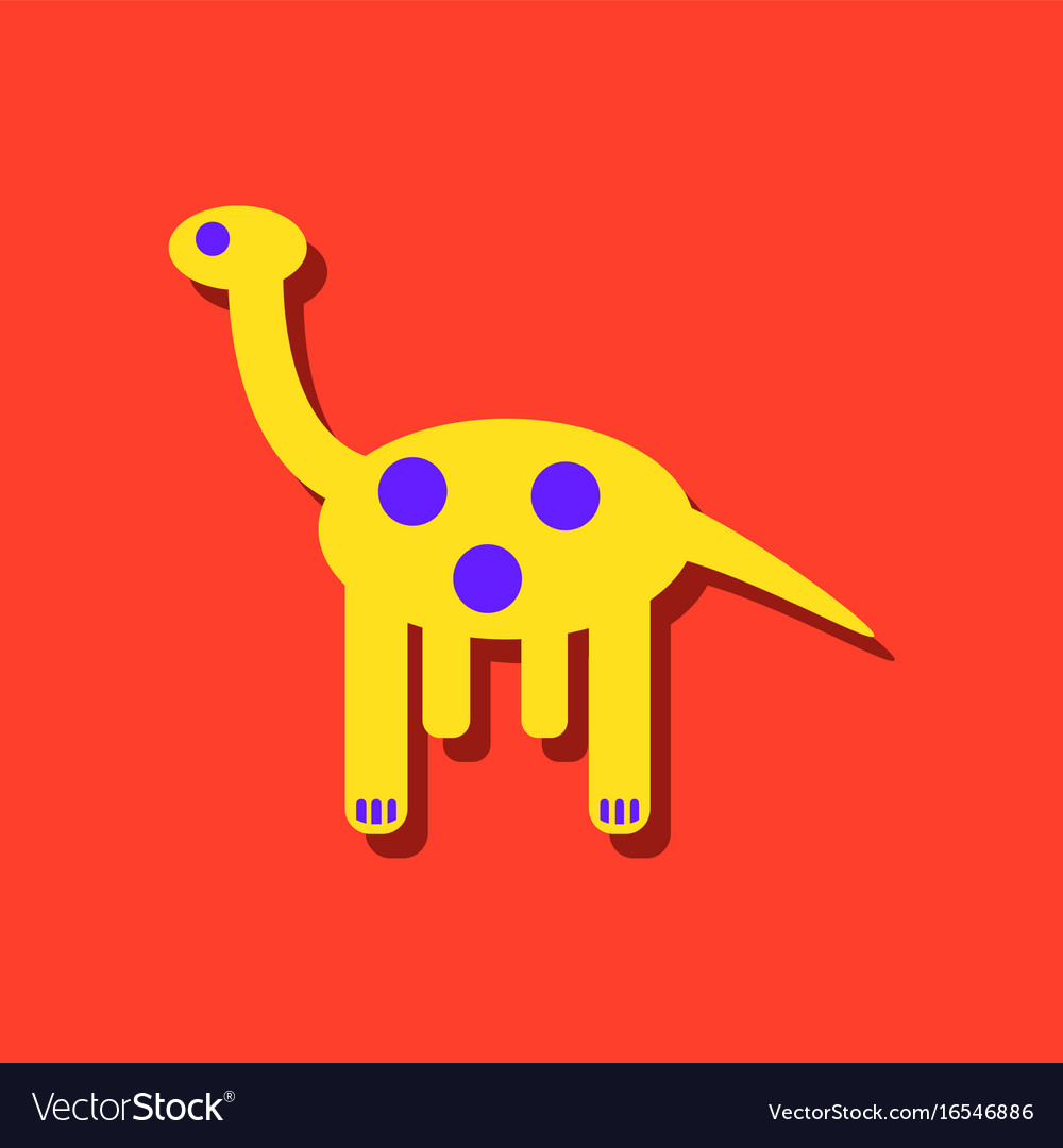 Toy African Giraffe