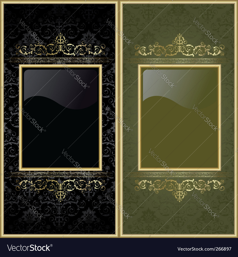 Set from frames vector image