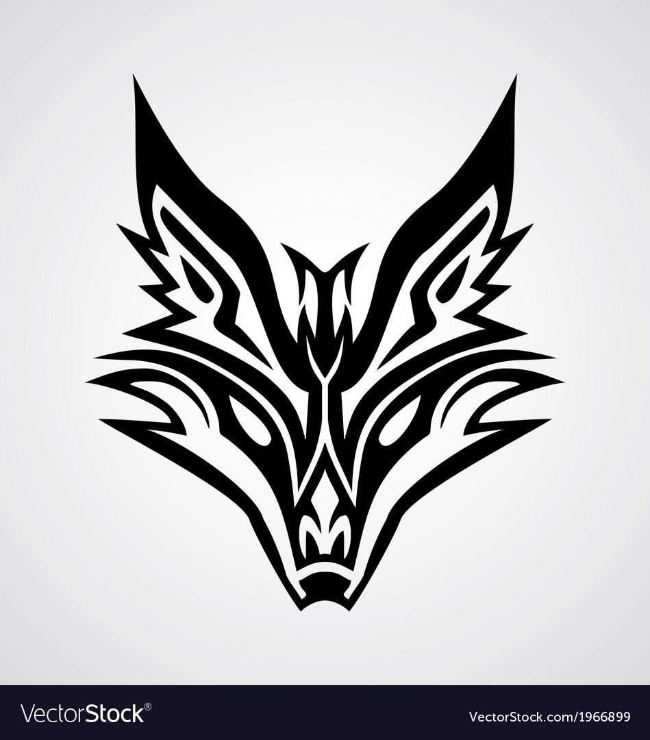 Fox Logo Tattoo Designs