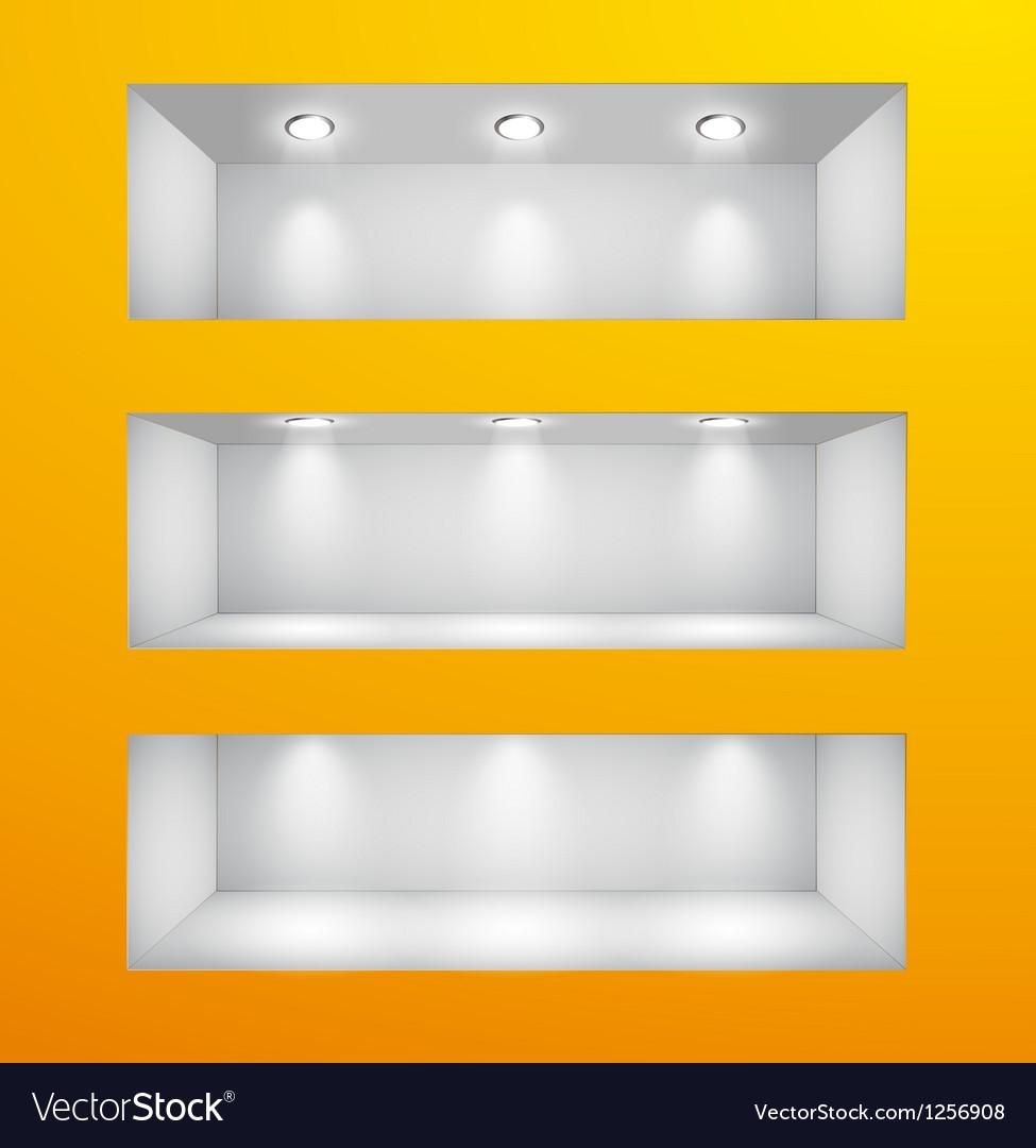 Wall goriz vector image