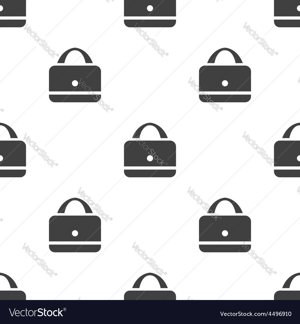 Purse seamless pattern vector image