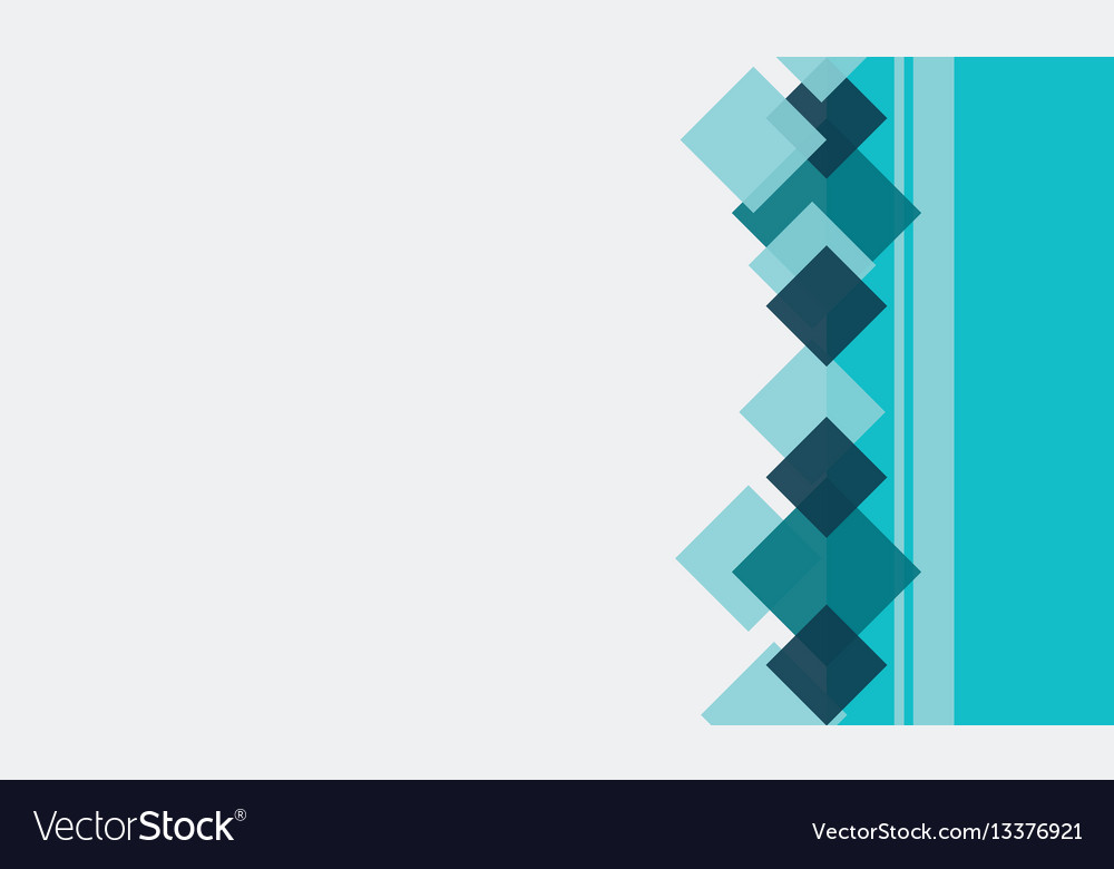 Collection of style square abstract background vector image