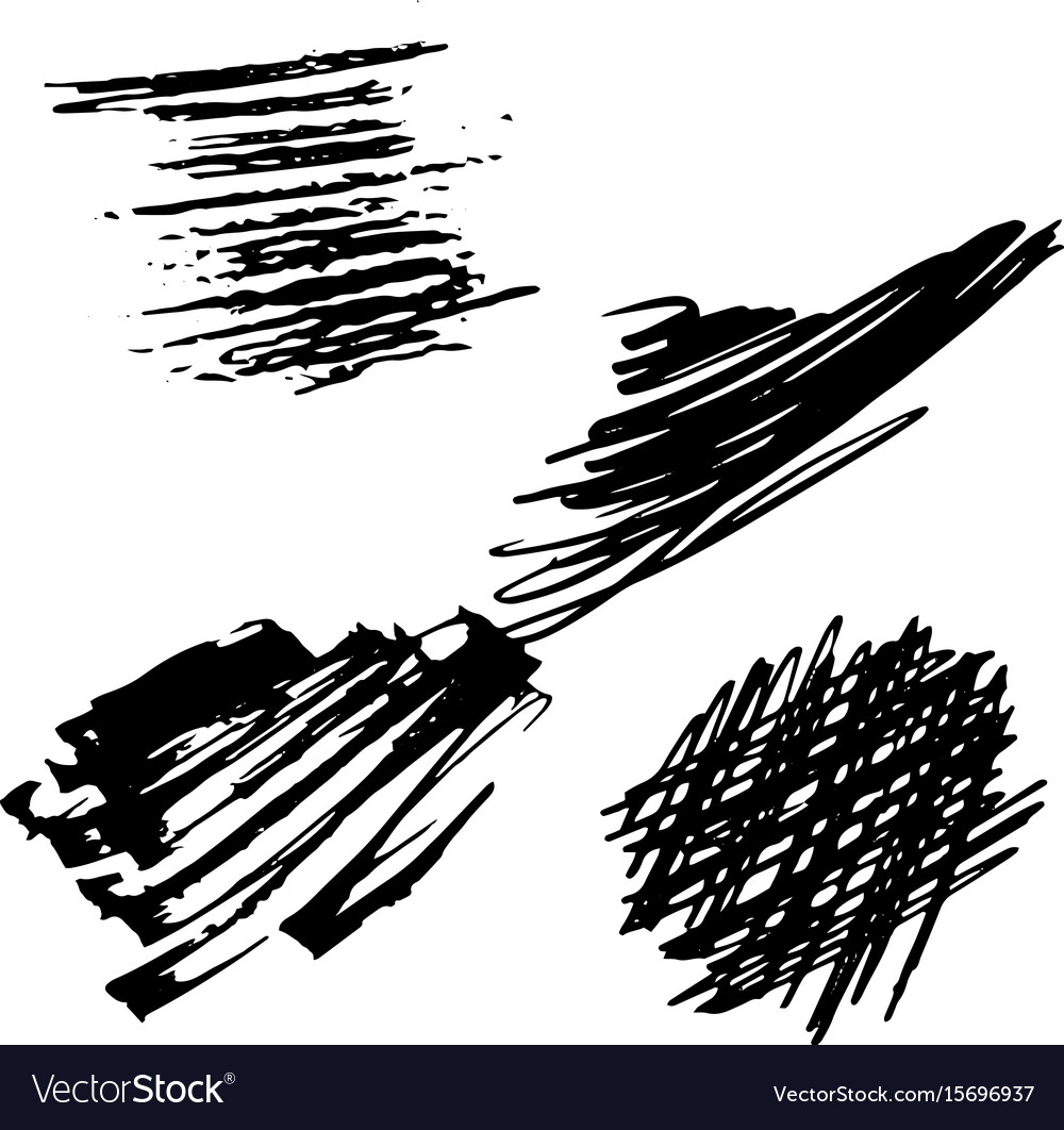 Background black and white abstract texture with vector image