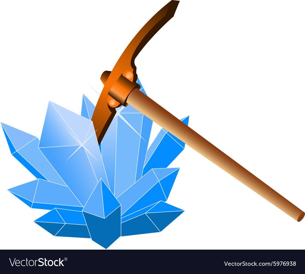 Crystal6 vector image