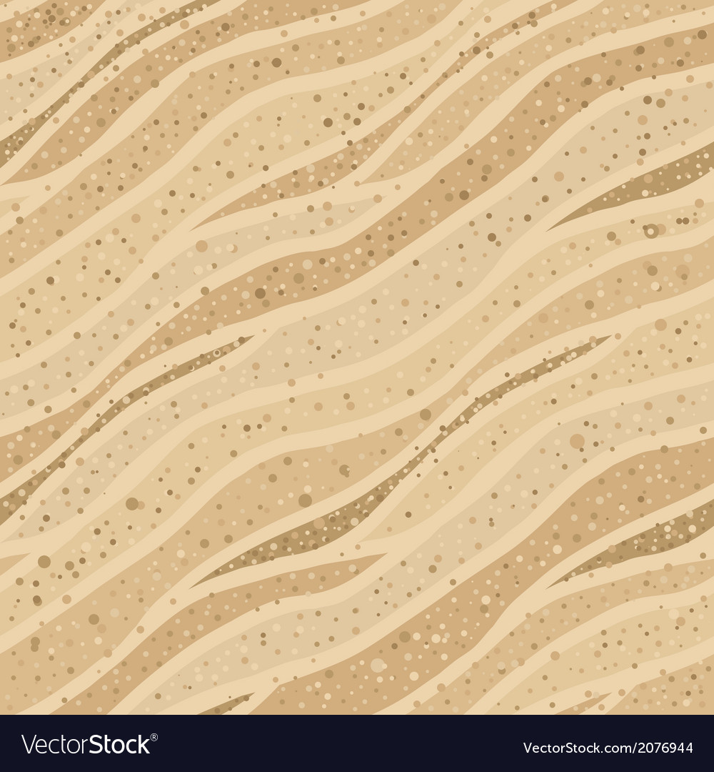 Seamless sand texture vector image