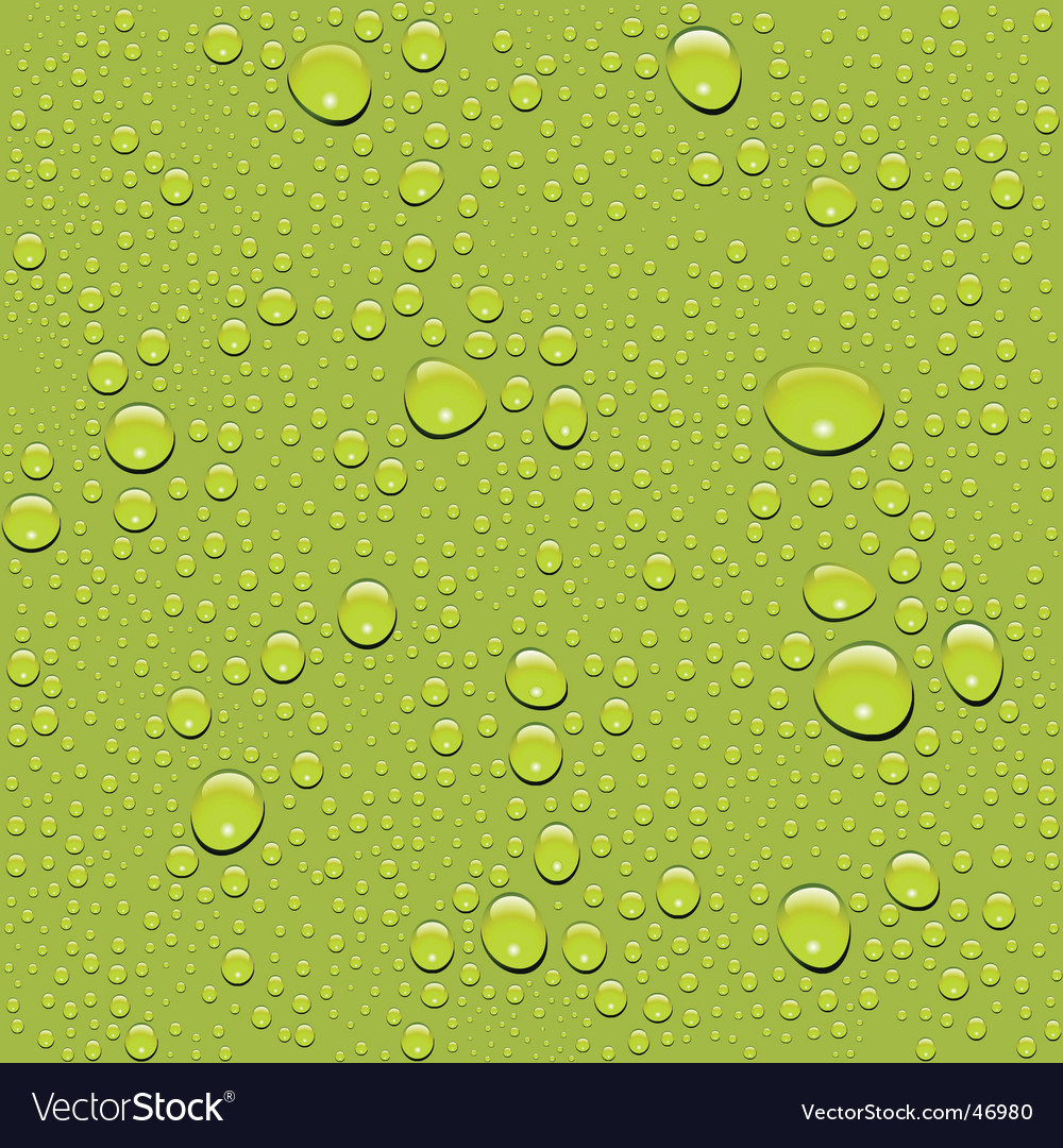Water drop texture vector image
