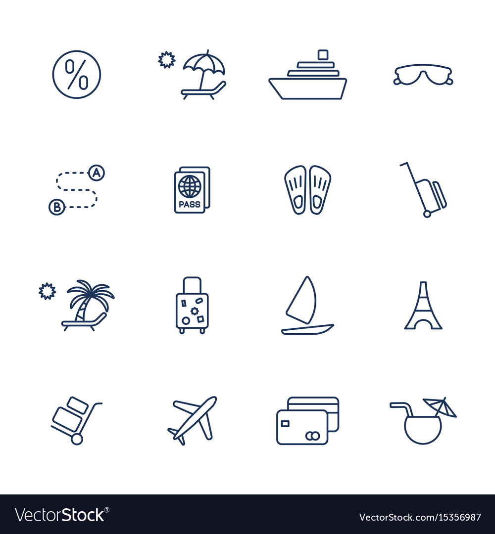 Simple icons set for web apps programs and other vector image
