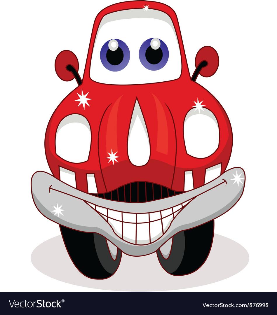 Car cartoon vector image