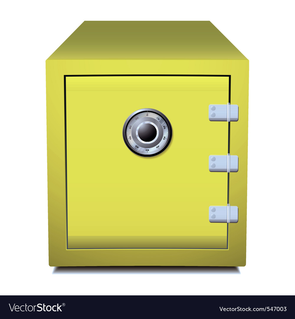 Business safe vector image