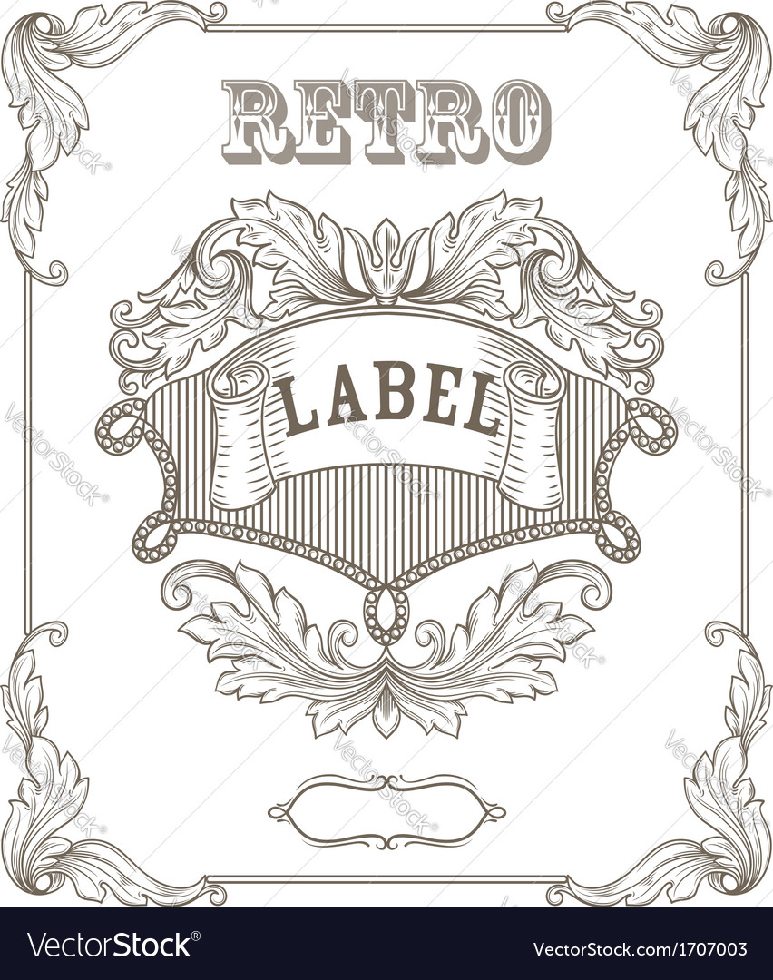 vintage banner royalty free vector image - vectorstock, Powerpoint templates