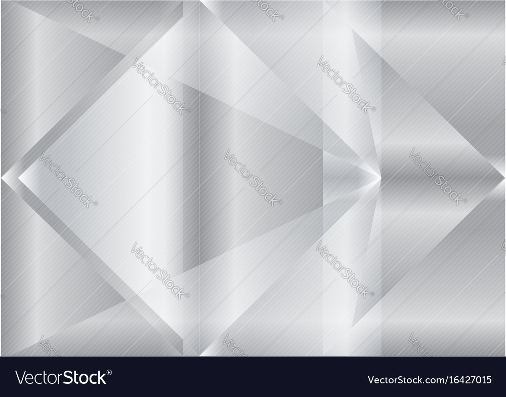 Triangle gray abstract background vector image