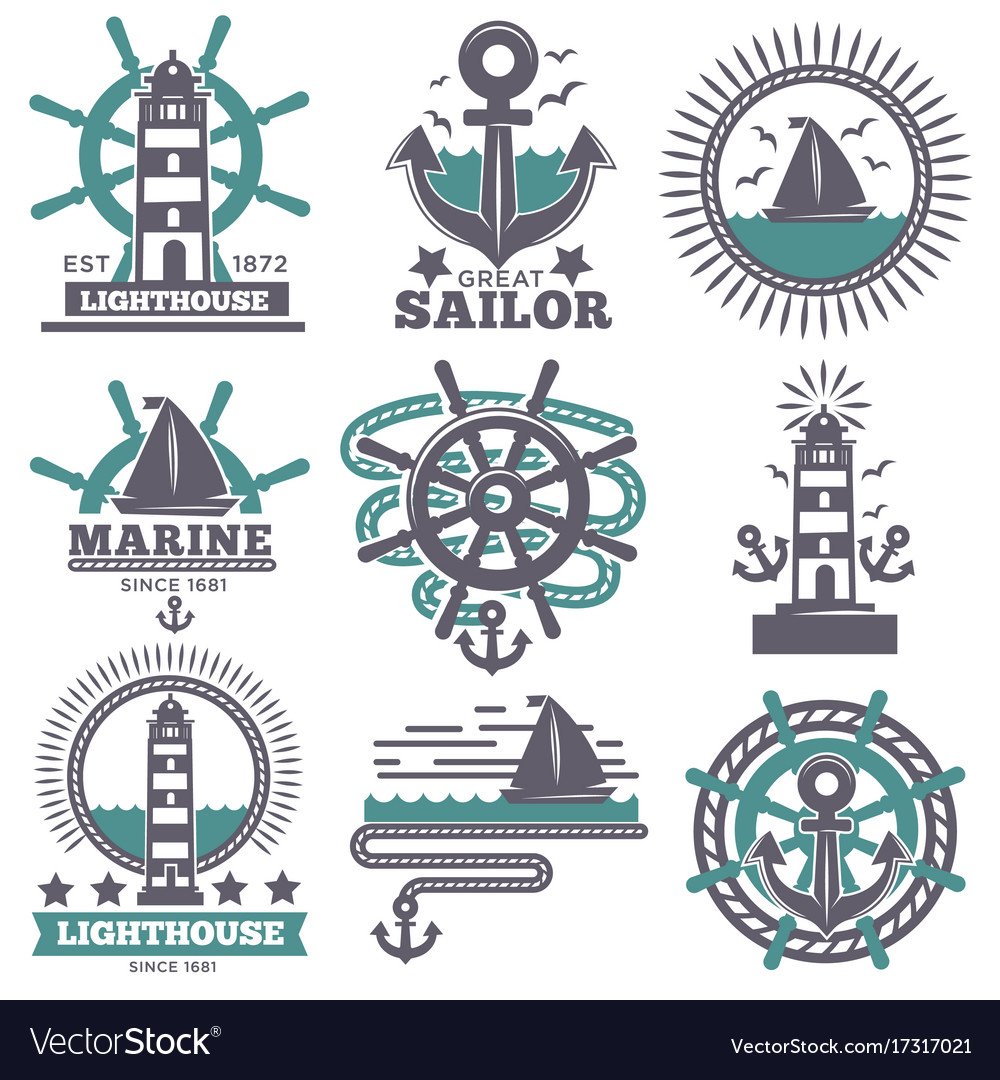 Nautical Symbols And Meanings Marine nautical sailor...