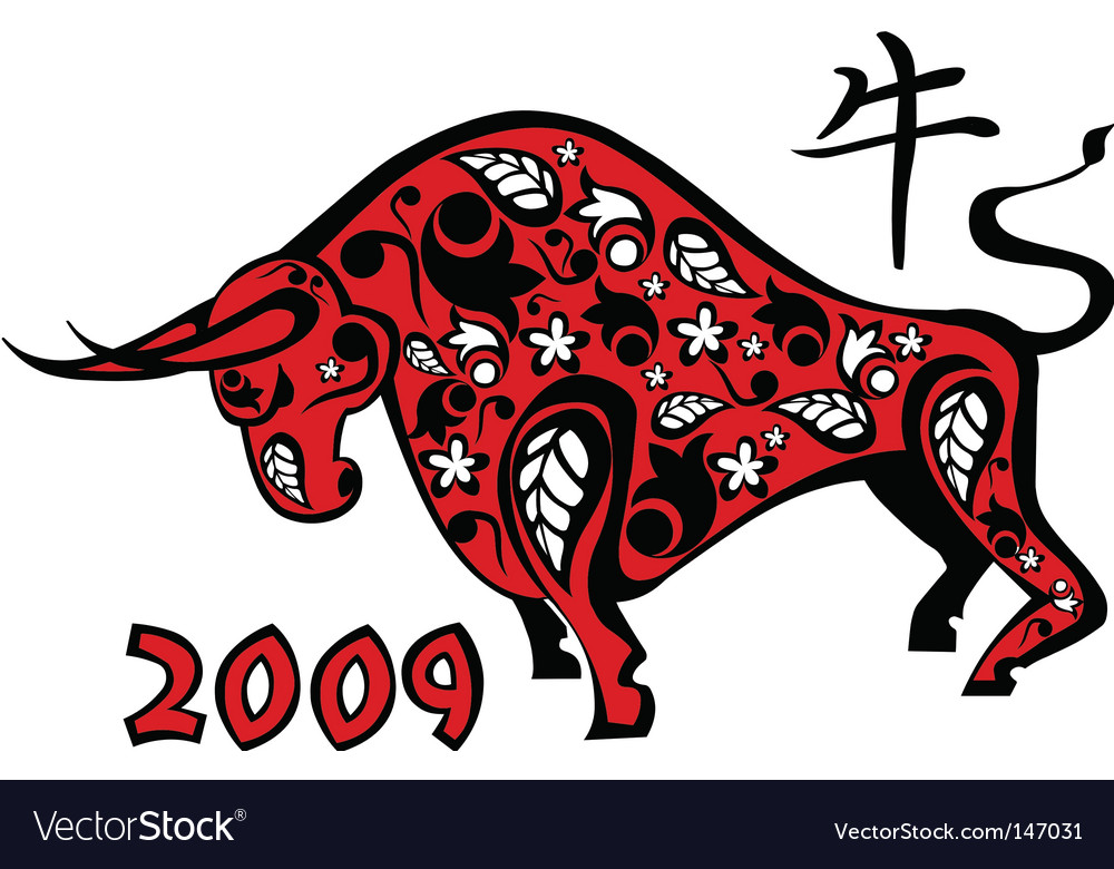 chinese new year 2009 vector image - Chinese New Year 2009