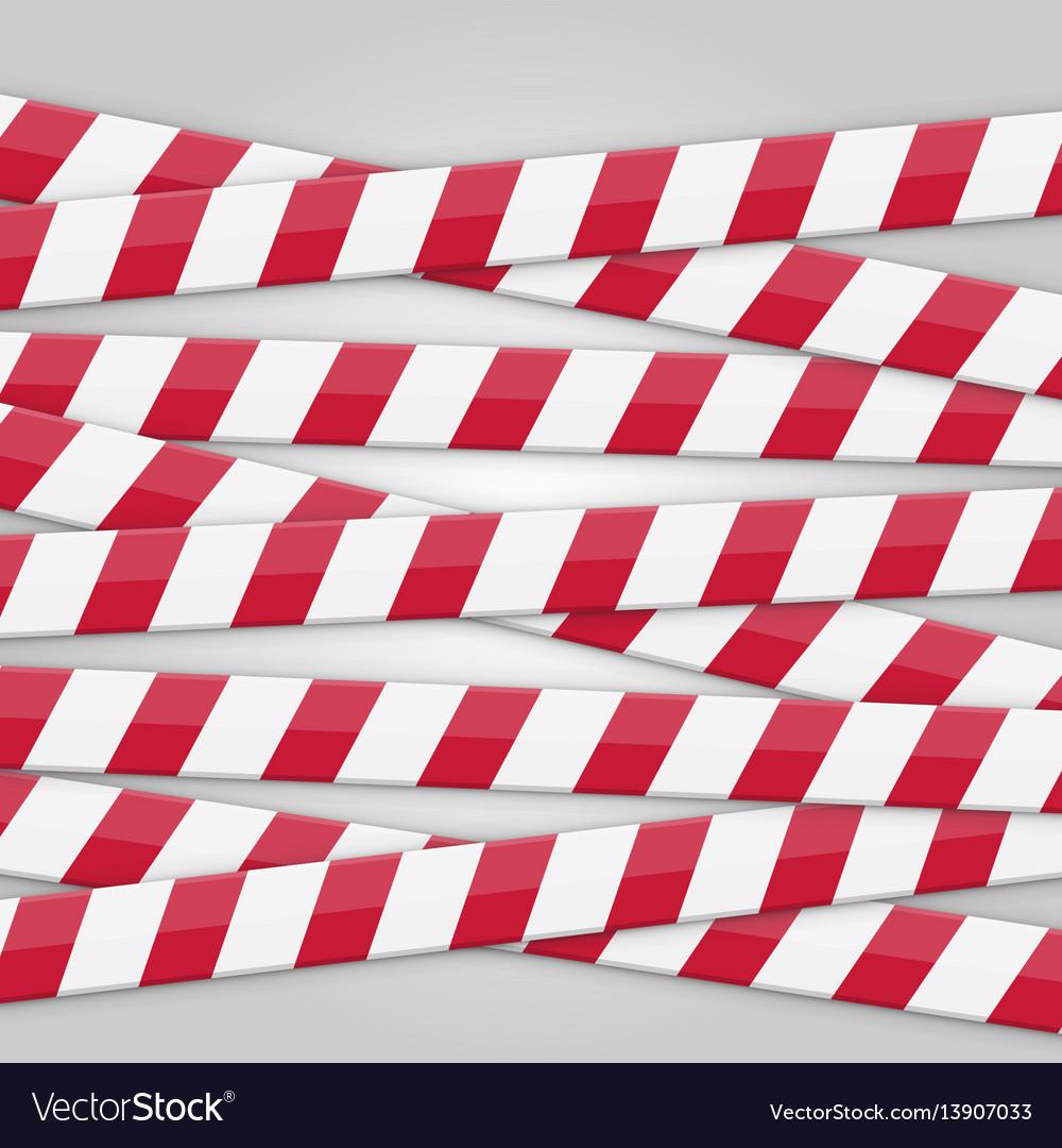 Tape sealed background vector image
