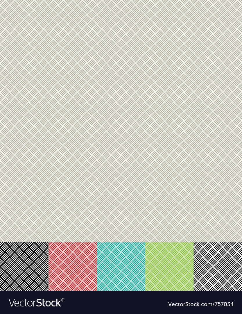 Cross hatch pattern vector image