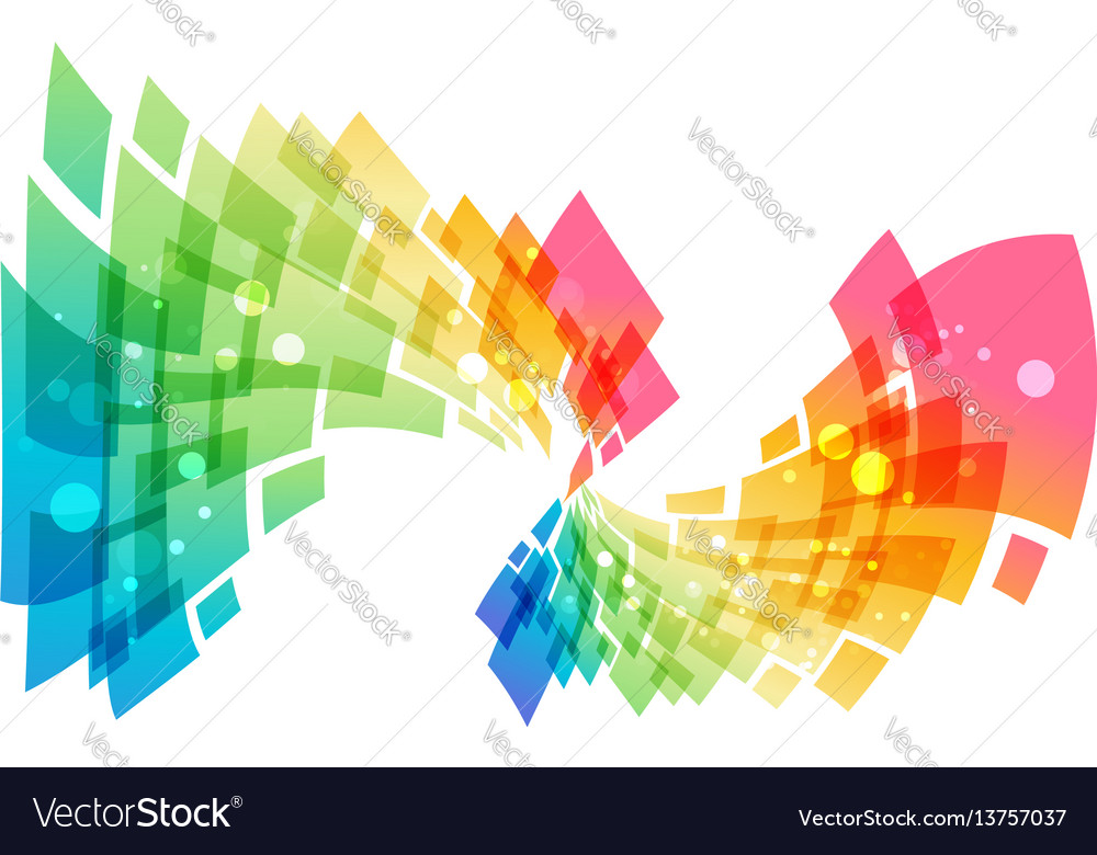 Curve abstract element vector image