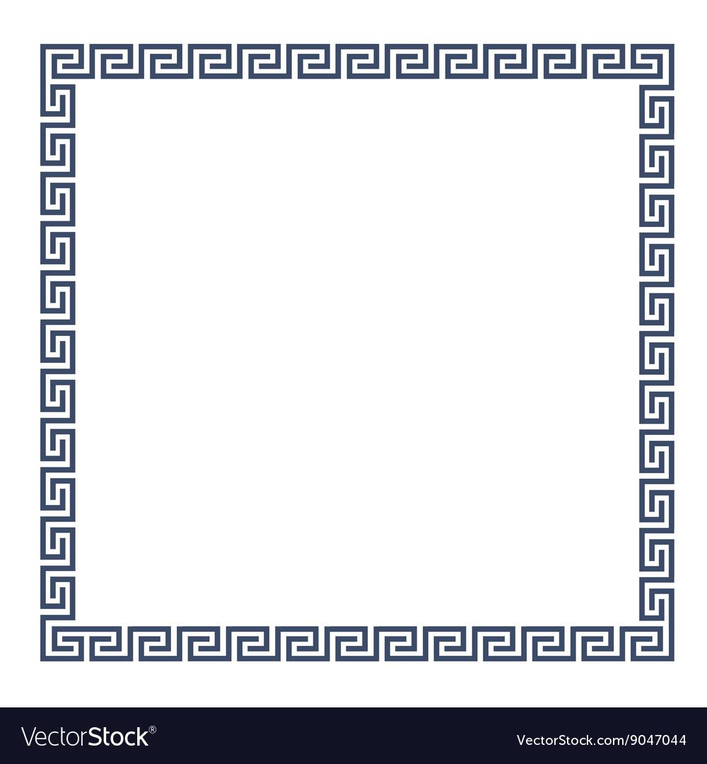 Decorative greek frame for design royalty free vector image decorative greek frame for design vector image jeuxipadfo Choice Image