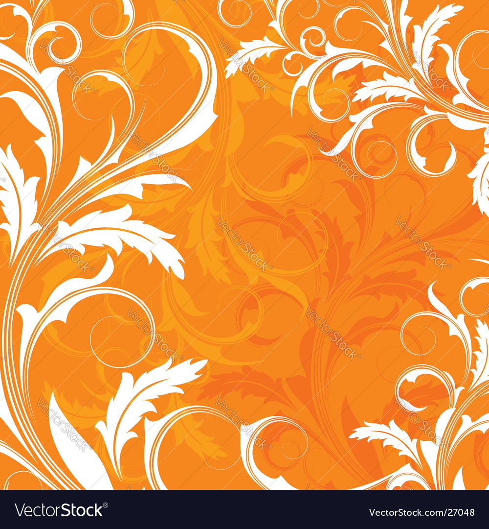 Orange Background Vector. Artist: elenashow; File type: Vector EPS