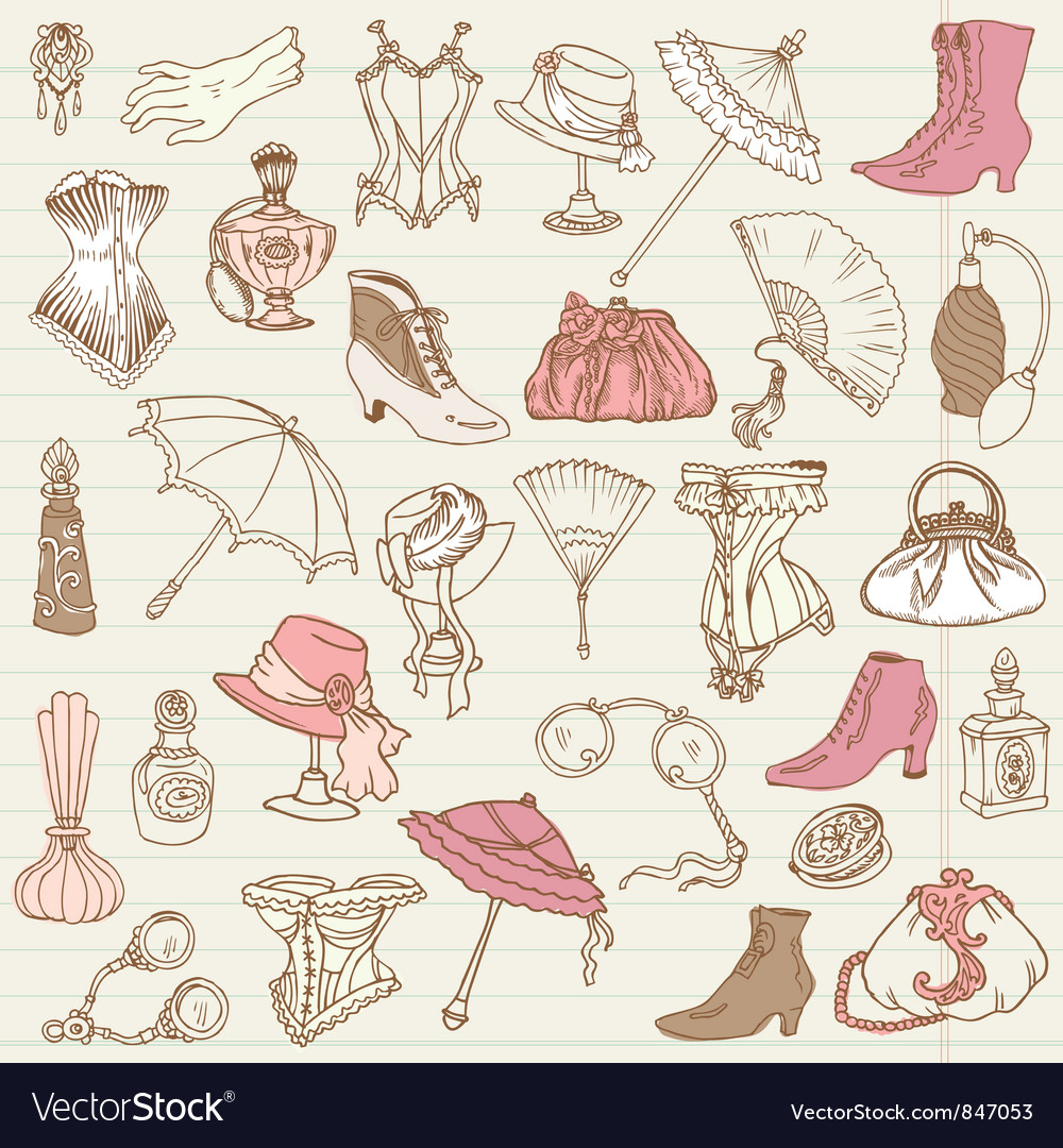 Ladies Fashion vector image