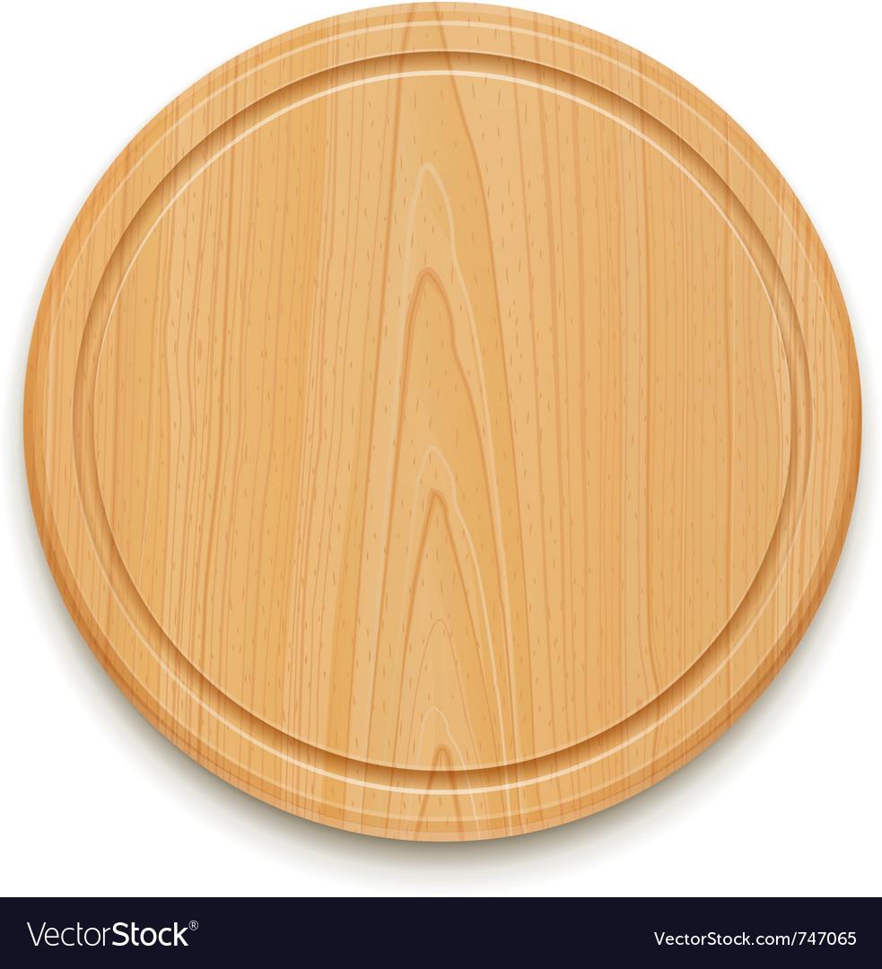 Kitchen cutting board vector image