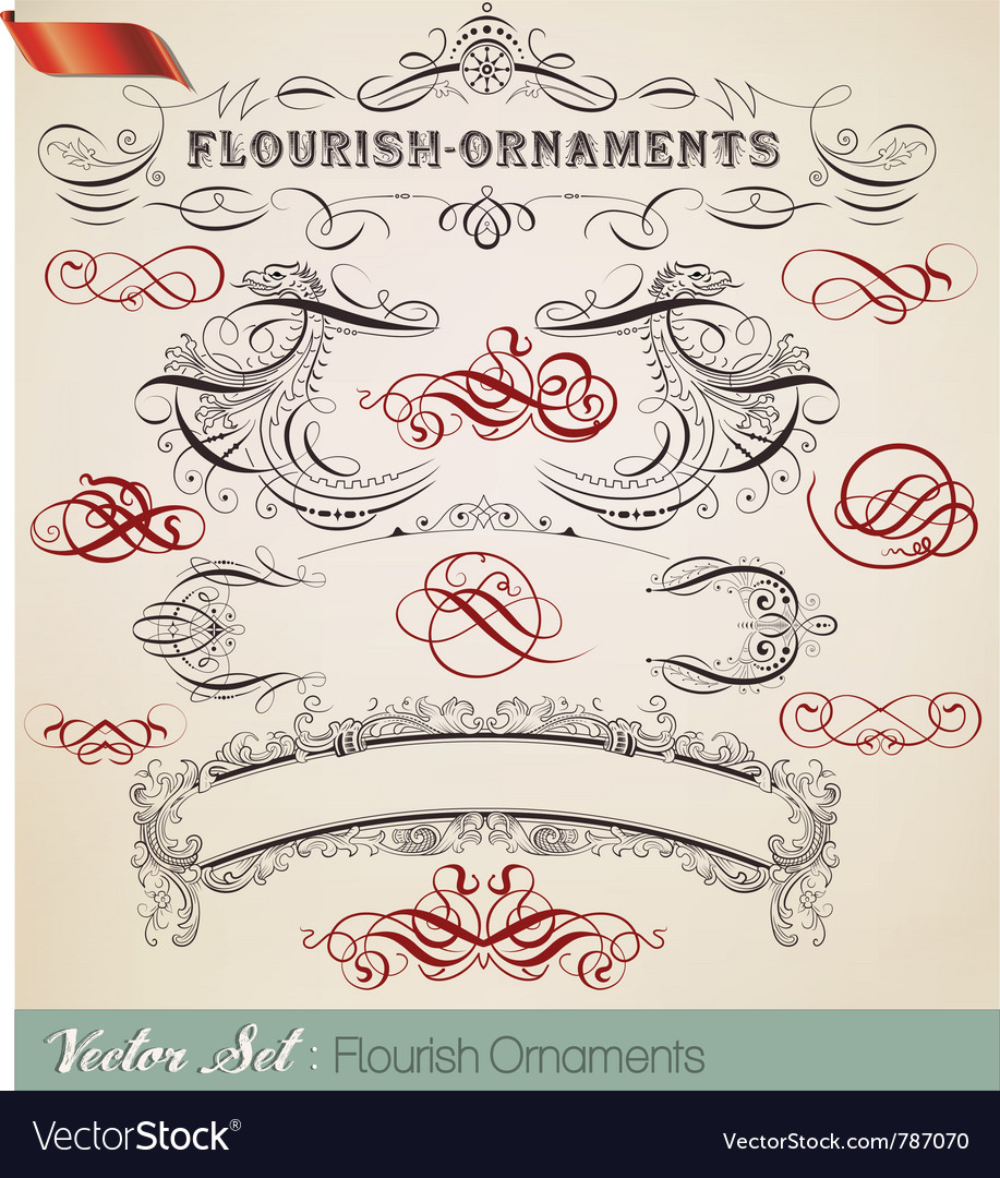 Design elements set- lots of useful elements to yo vector image