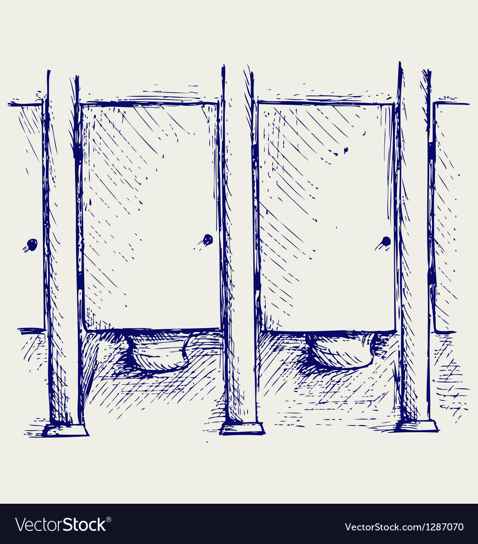 Public Toilet vector image
