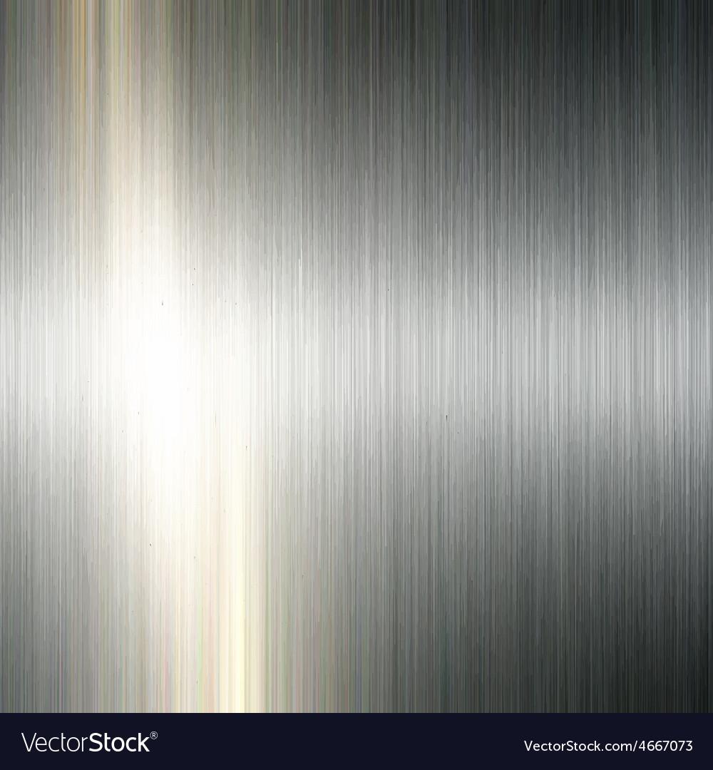 Brushed metal background 1305 vector image