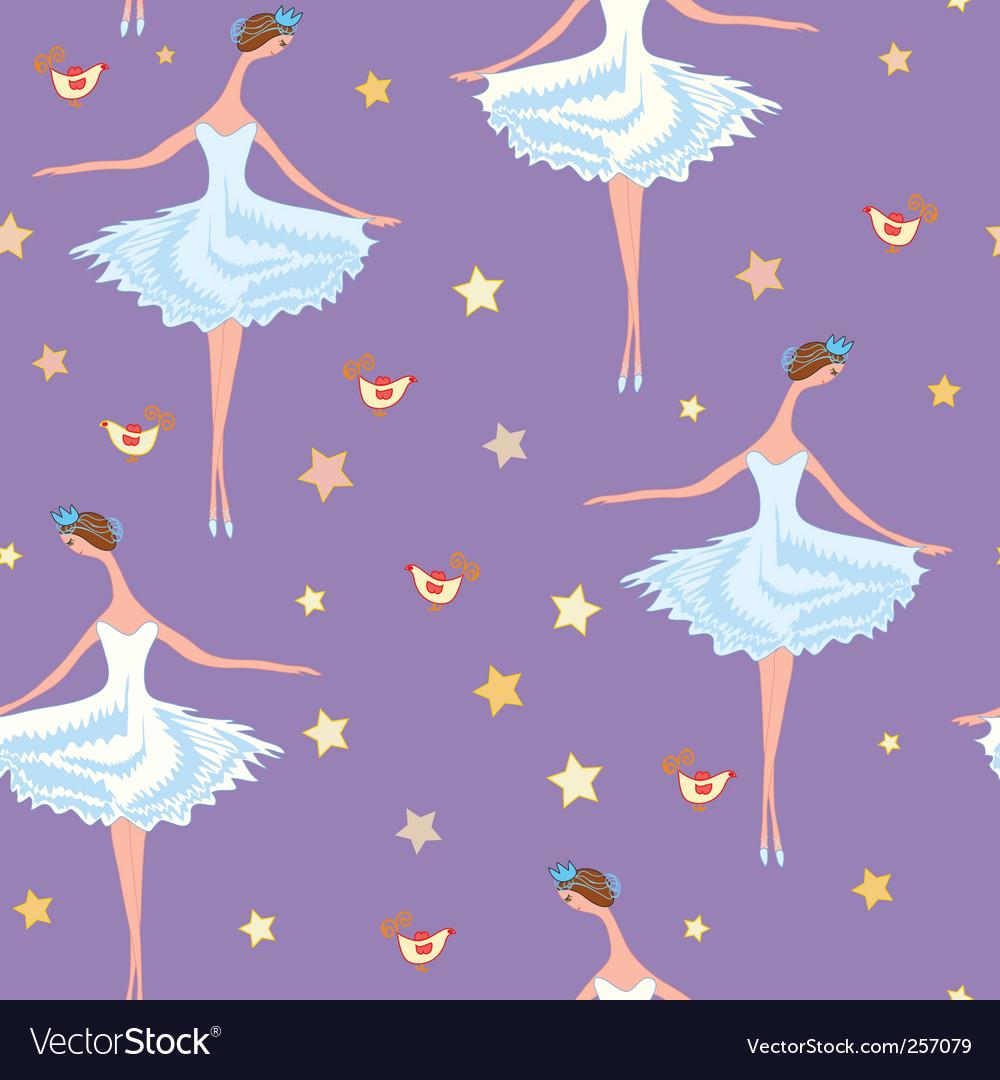 Seamless pattern of ballet dancers royalty free stock photography - Ballet Seamless Pattern Vector Image