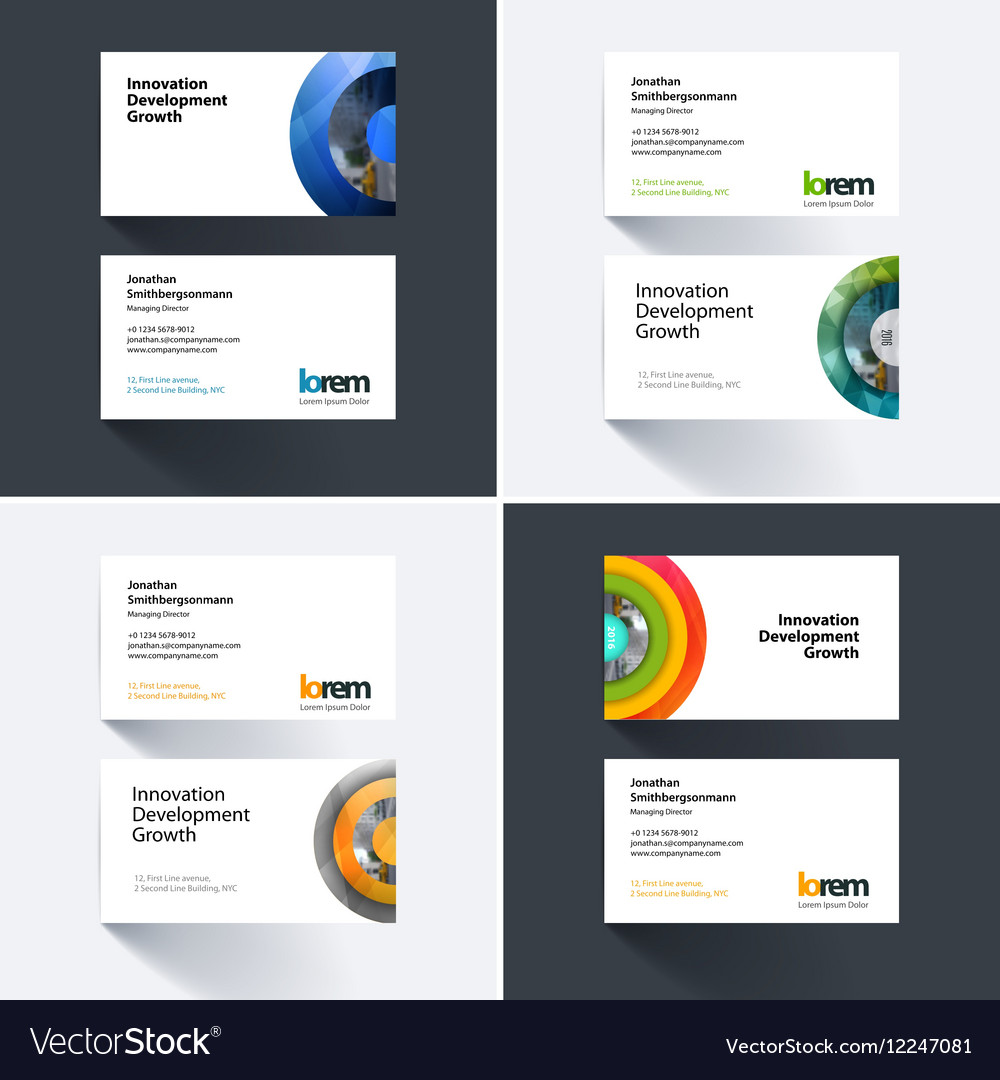 Half business cards images free business cards business card template with half target royalty free vector business card template with half target vector magicingreecefo Choice Image
