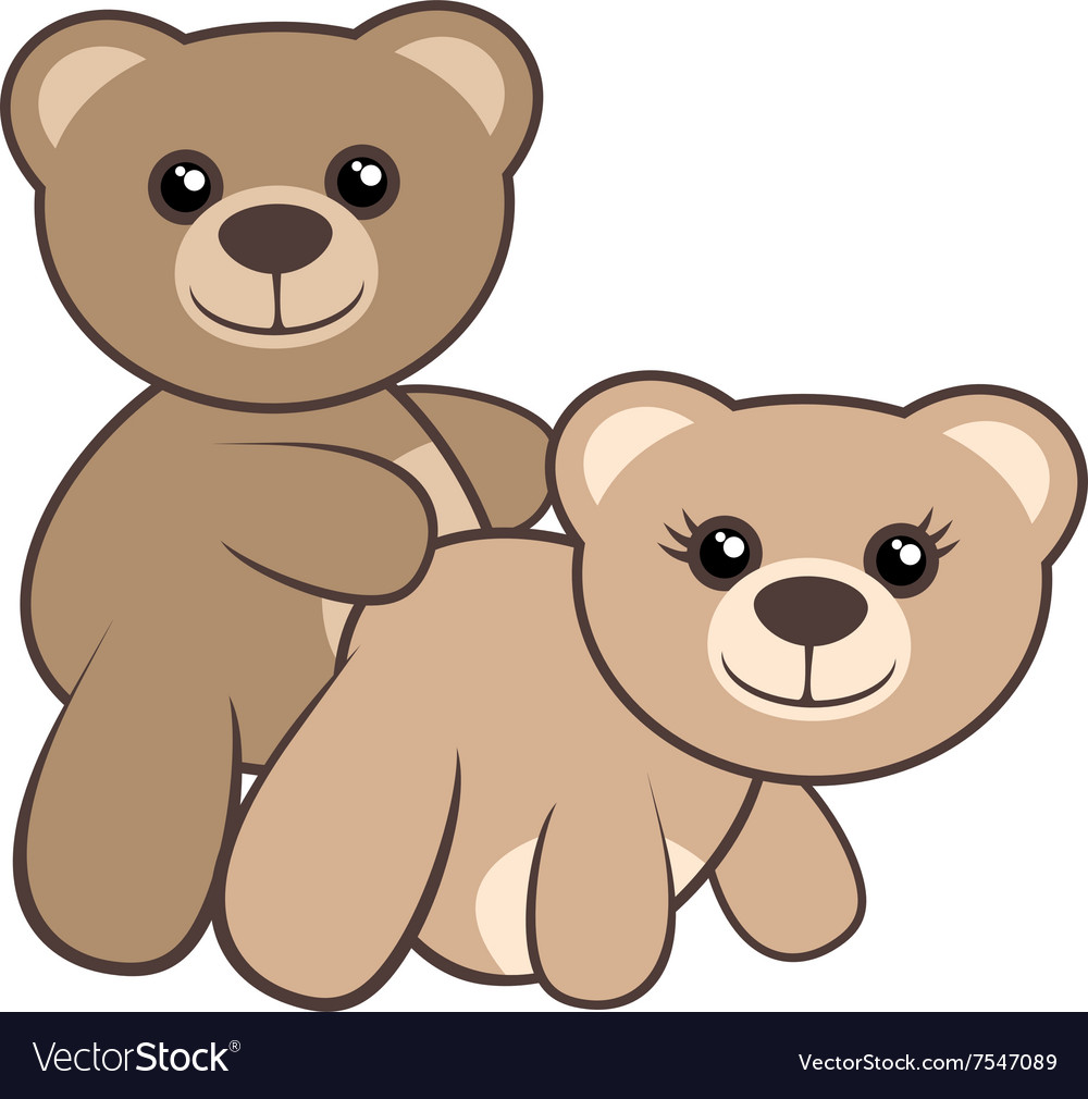 Bear sex vector image