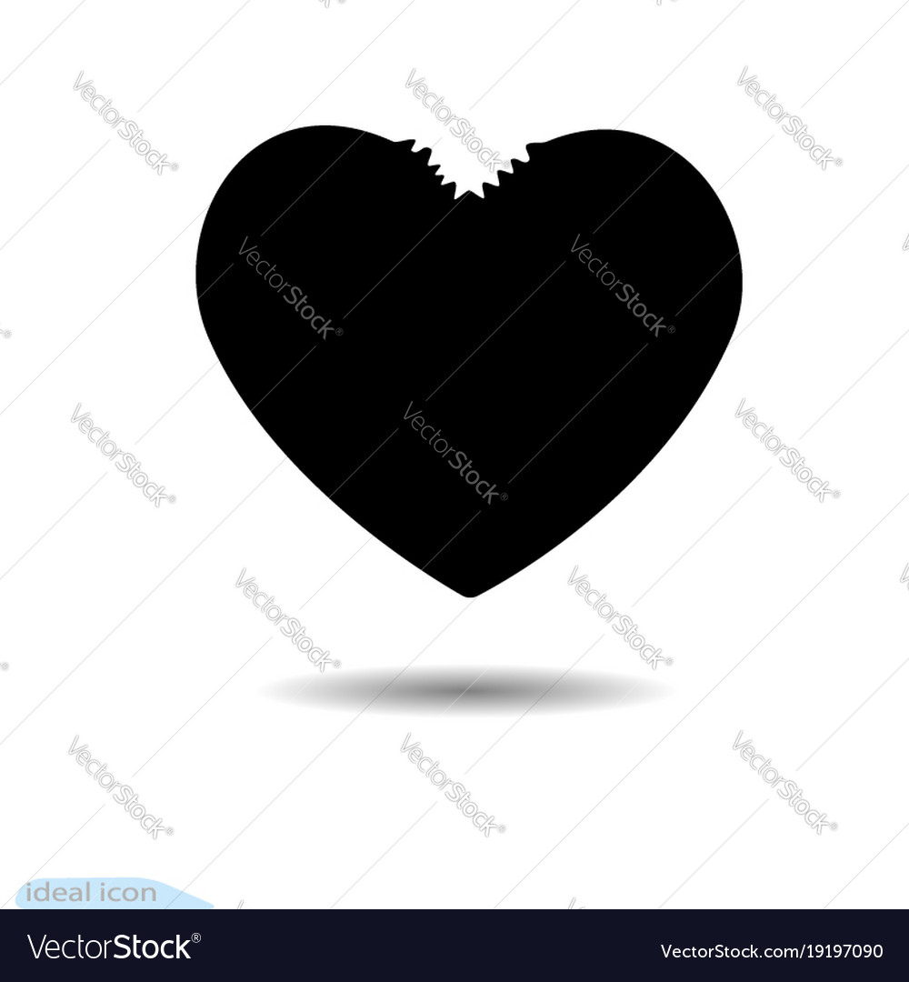 Heart icon a symbol of love valentine s day vector image biocorpaavc Images