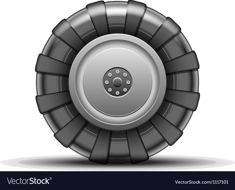 Big wheel vector image