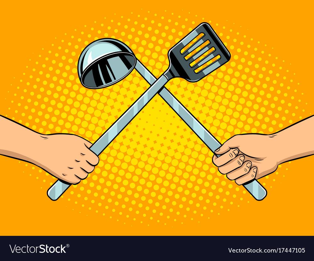Kitchen utensils art Cooking Utensils Clipart Clipart Panda Free ...