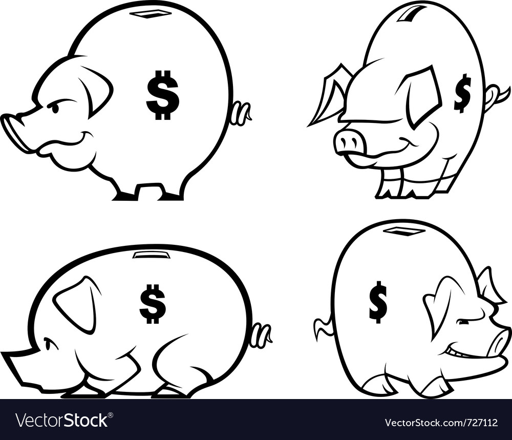 compare the ways in which piggy List two ways that piggy banks today are different from the ones that were made a few hundred years ago today, piggy banks come in a variety of shapes and they are made of many different materials 4 who is most responsible for making banks in the shape of pigs b.