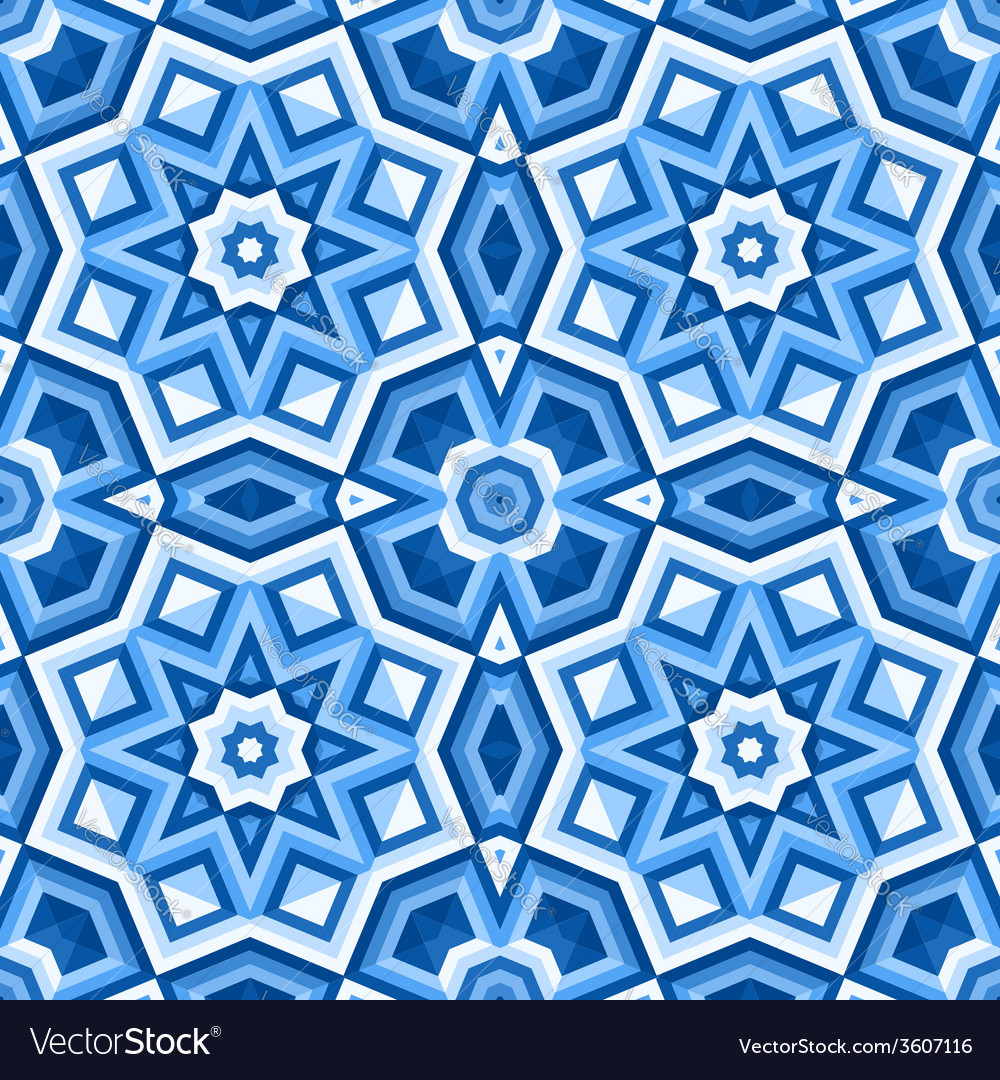 Patterned floor tiles Royalty Free Vector Image