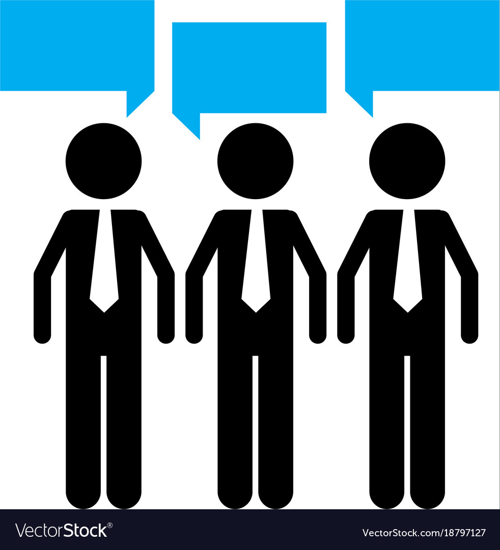 Isolated teamwork design vector image