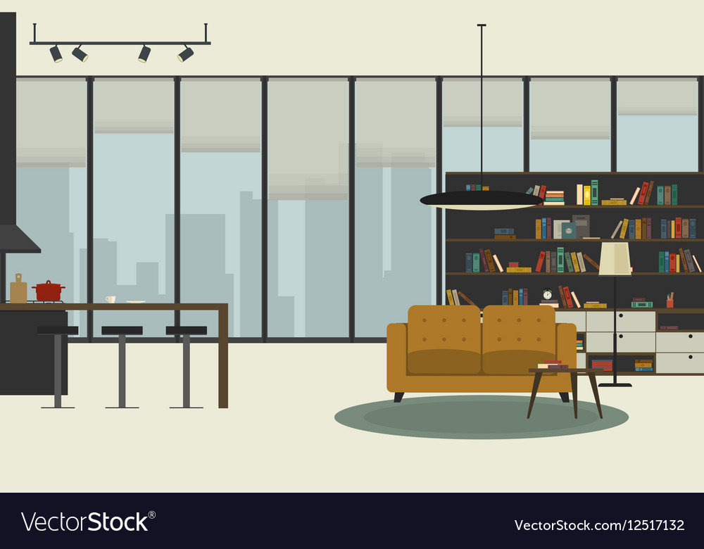 Apartment vector image