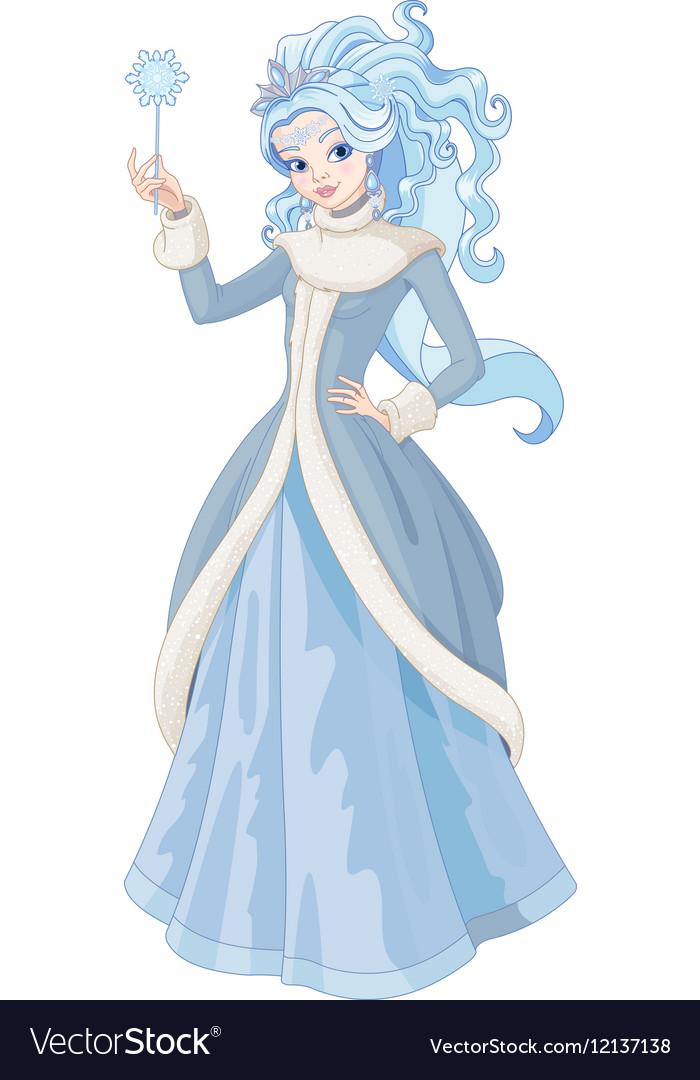 The Snow Queen vector image