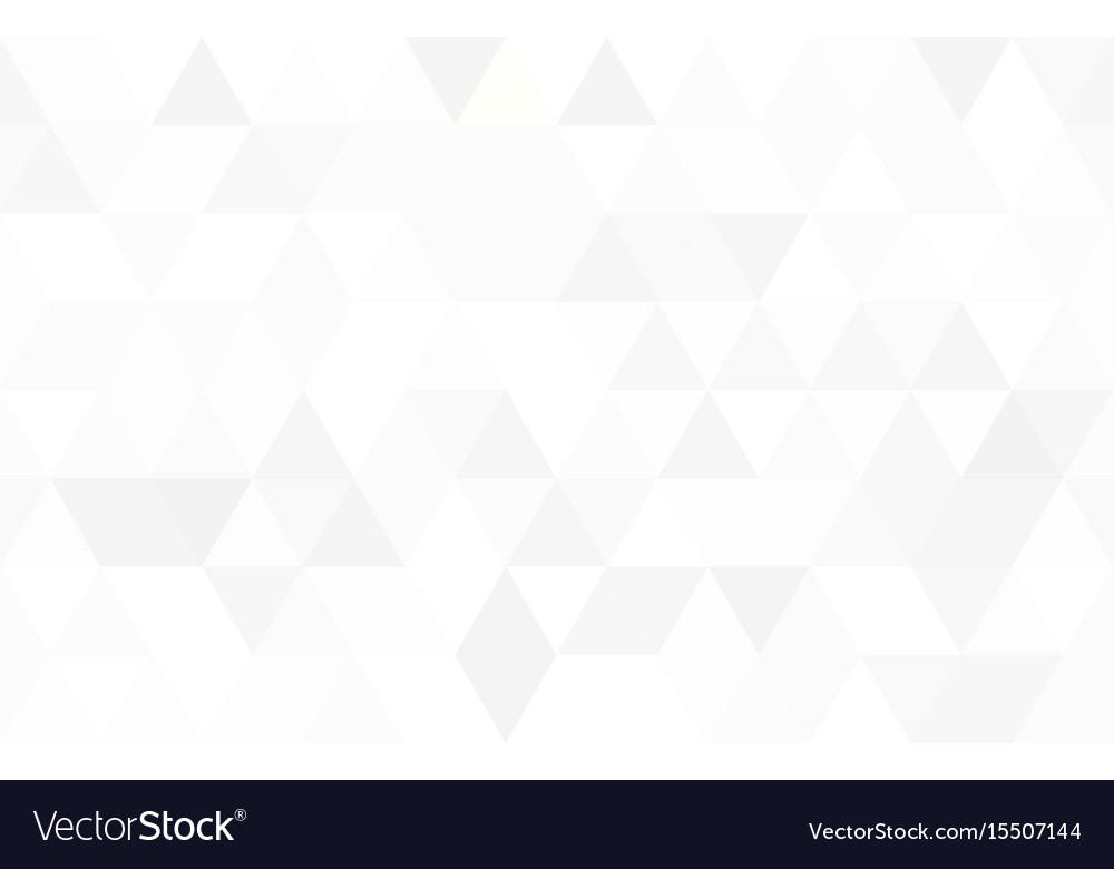 Pattern of triangular vector image
