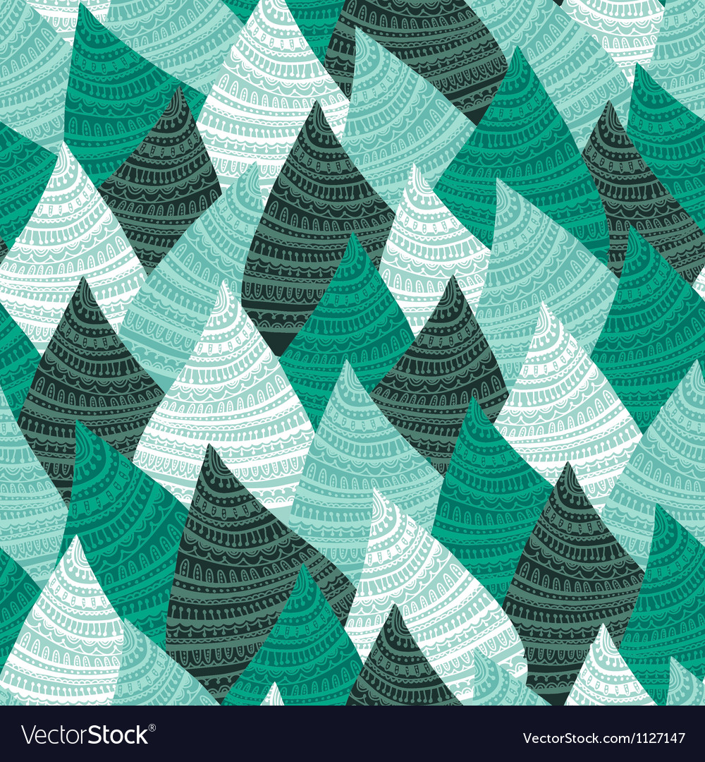 Abstract seamless wave background vector image